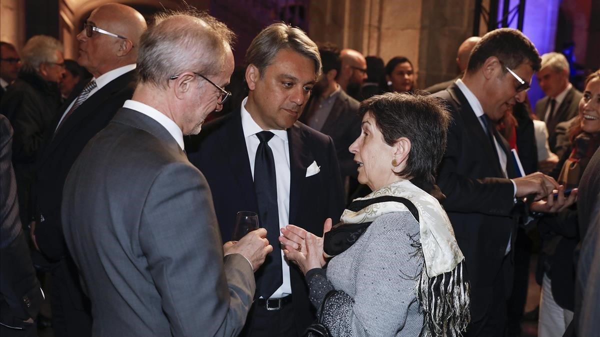Luca de Meo y Teresa Cunillera.