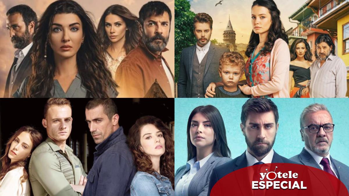 Algunas de las series que se está convirtiendo en tendencia en Turquía