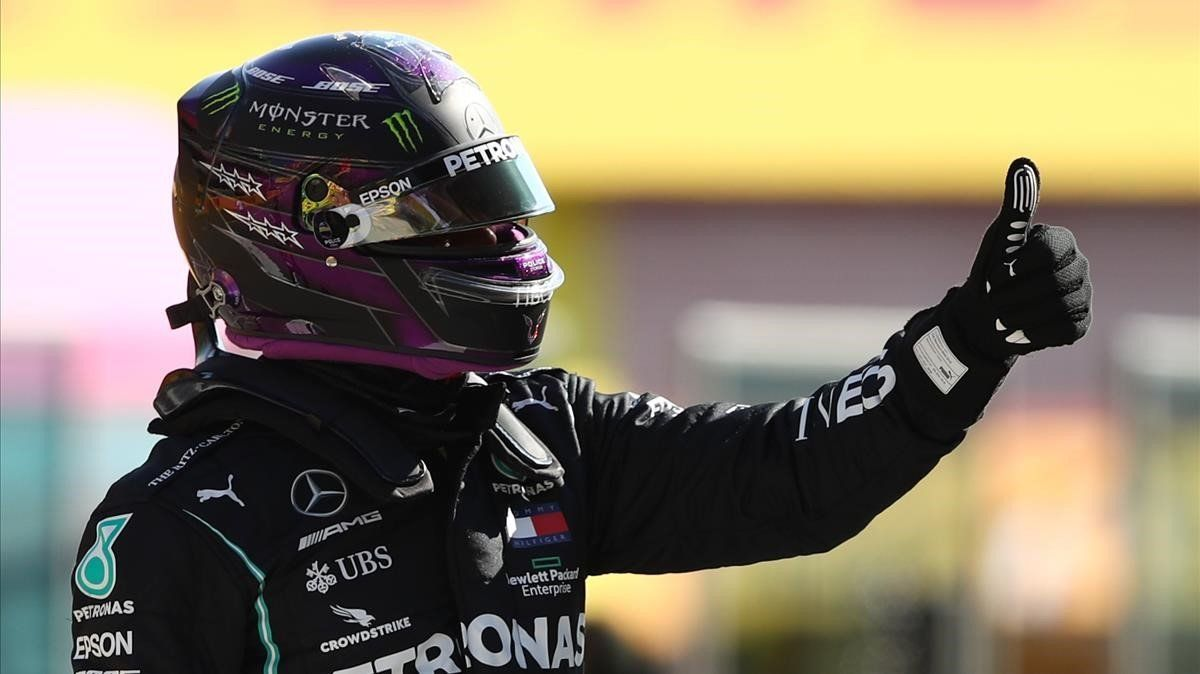 Lewis Hamilton consiguió su pole número 95 en Fórmula 1