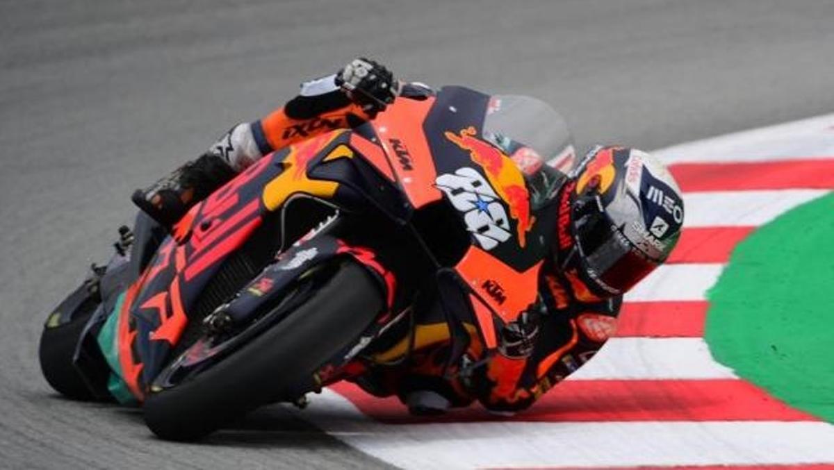 Oliveira, ganador de la carrera de MotoGP en Montmeló.