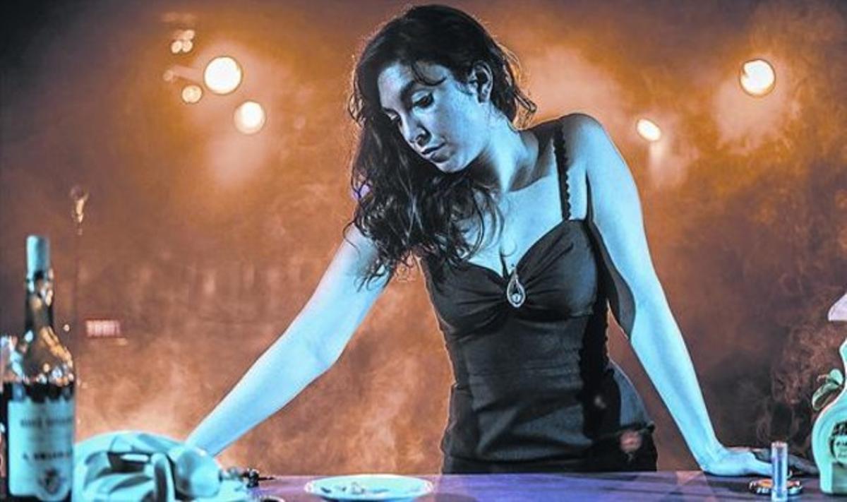Lucía Trentini, en 'Música de fiambrería', que combina teatro, canciones y poesía.