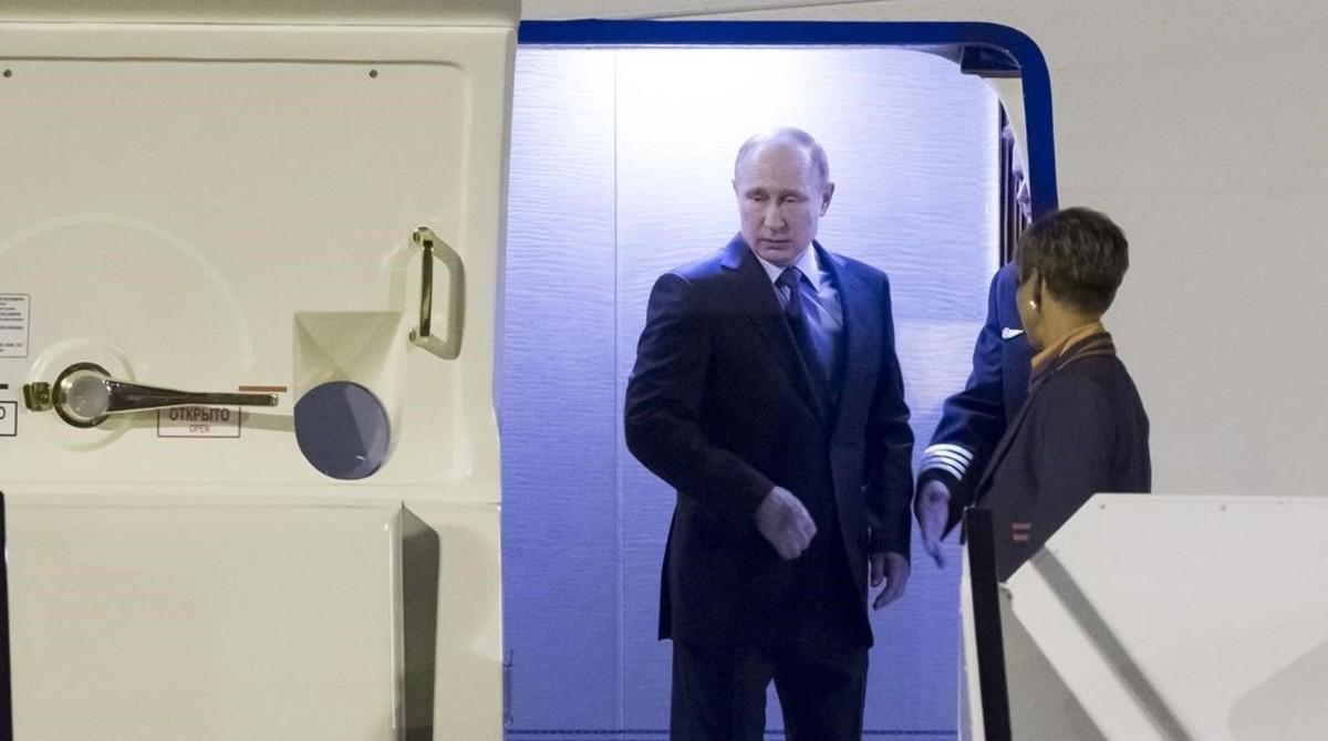 Putin llega a Hamburgo para participar en la cumbre del G-20.