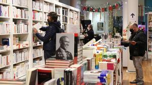 La librería Jaimes de Barcelona, el pasado 21 de diciembre.