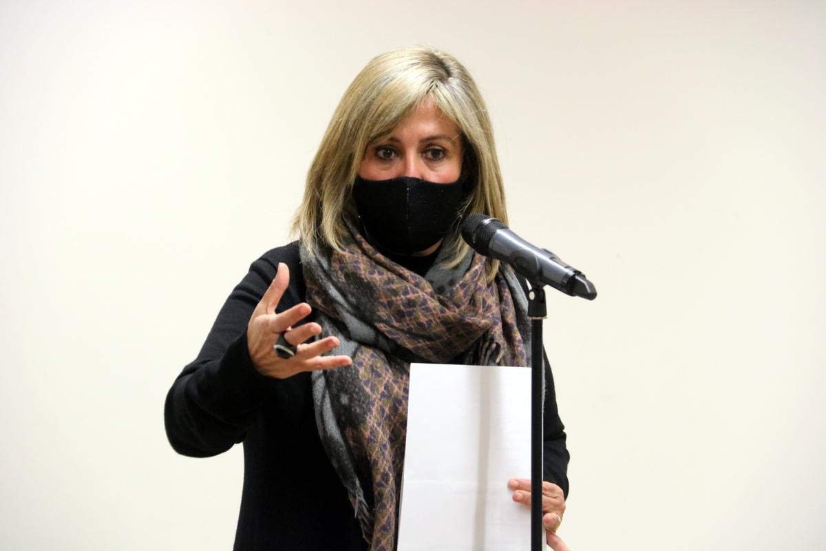 Núria Marín, alcaldesa de L'Hospitalet de Llobregat