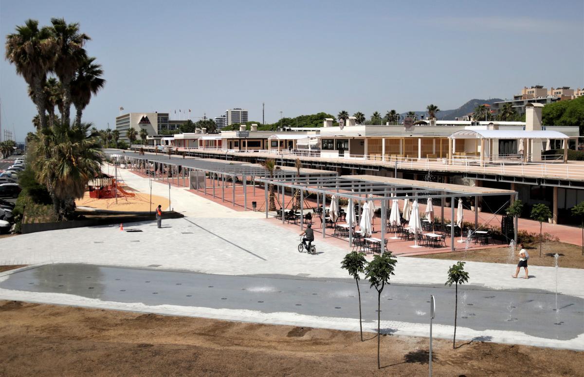 El Port de Mataró culmina la transformació de la seva zona comercial