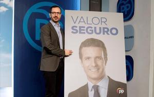 El vicesecretario de Organización del PP, Javier Maroto, presenta el lema del partido para el 28-A.
