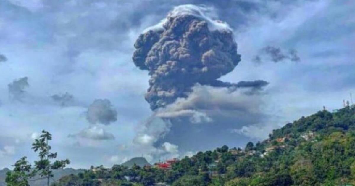 La nube del volcán del Caribe, a punto de llegar a Canarias y Andalucía