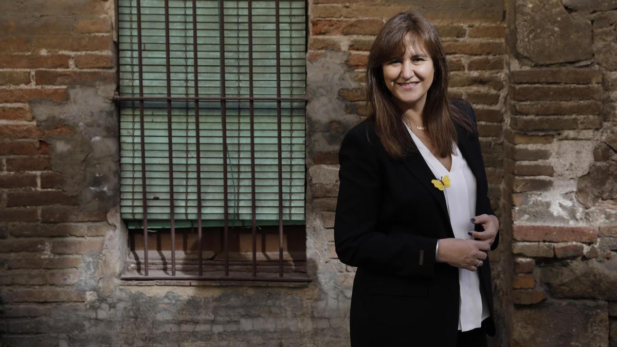 Laura Borràs, candidata de Junts a la presidencia de la Generalitat.