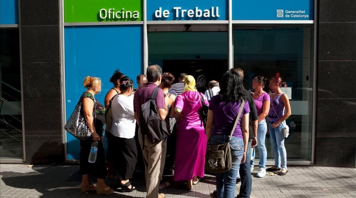 Oficina del Servei d' Ocupació de Catalunya.