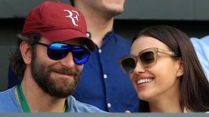 Bradley Cooper e Irina Shayk, el año pasado en Wimbledon.