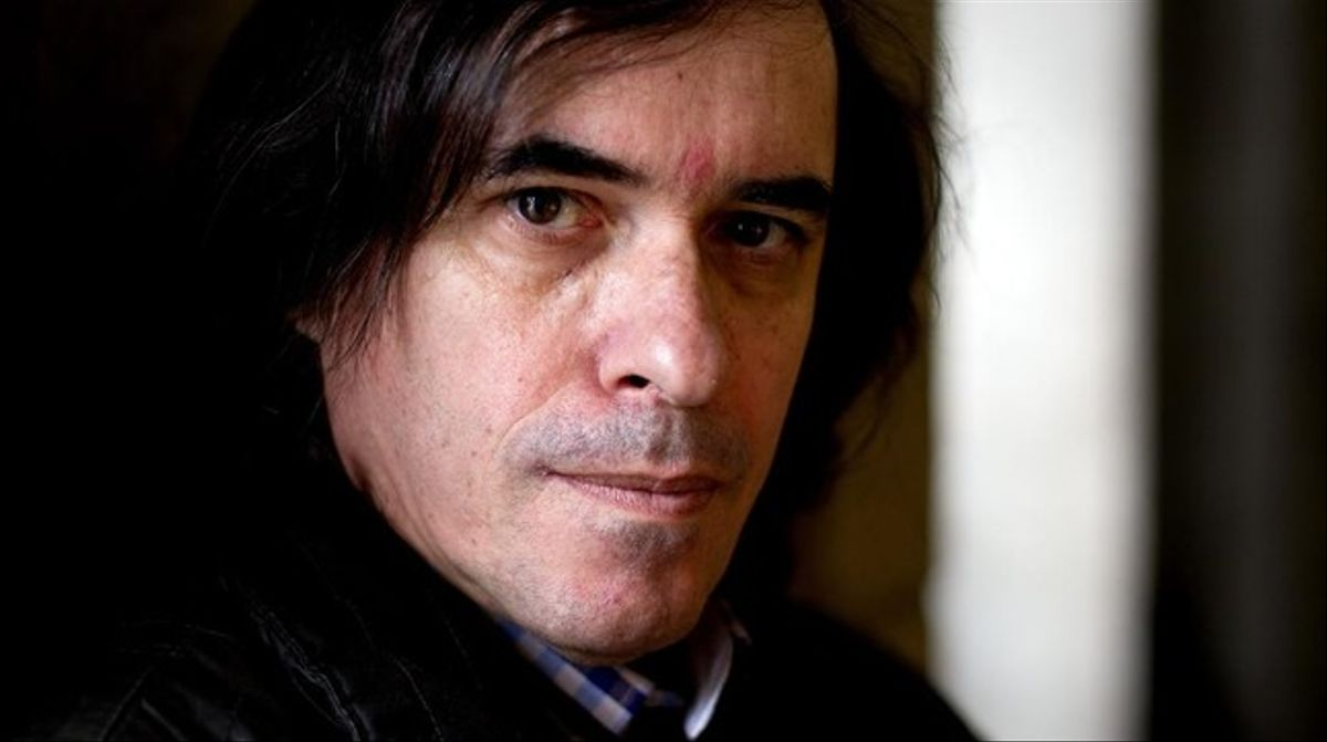 Mircea Cartarescu, durante una visita a Madrid en febrero del 2013