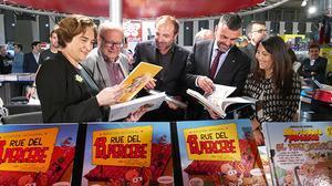El Salón rinde homenaje al dibujante Francisco Ibáñez