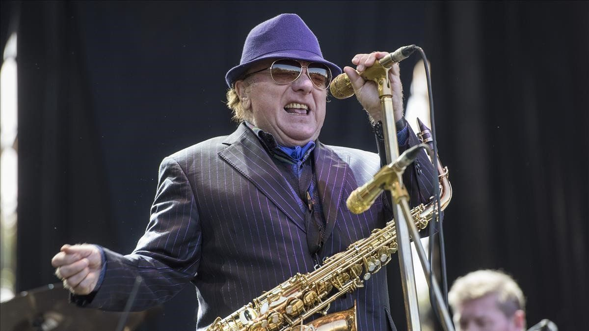 Van Morrison, en Vitoria, en el 2018.