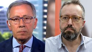 José Ramón Patterson y Juan Carlos Girauta.