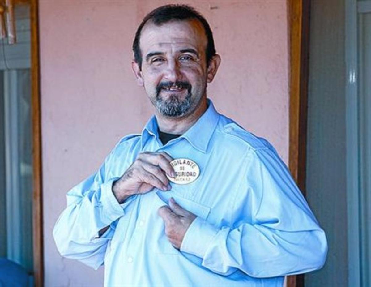 'El Arnau': «Dios no me hizo grande, ni fuerte, ni con mala leche»