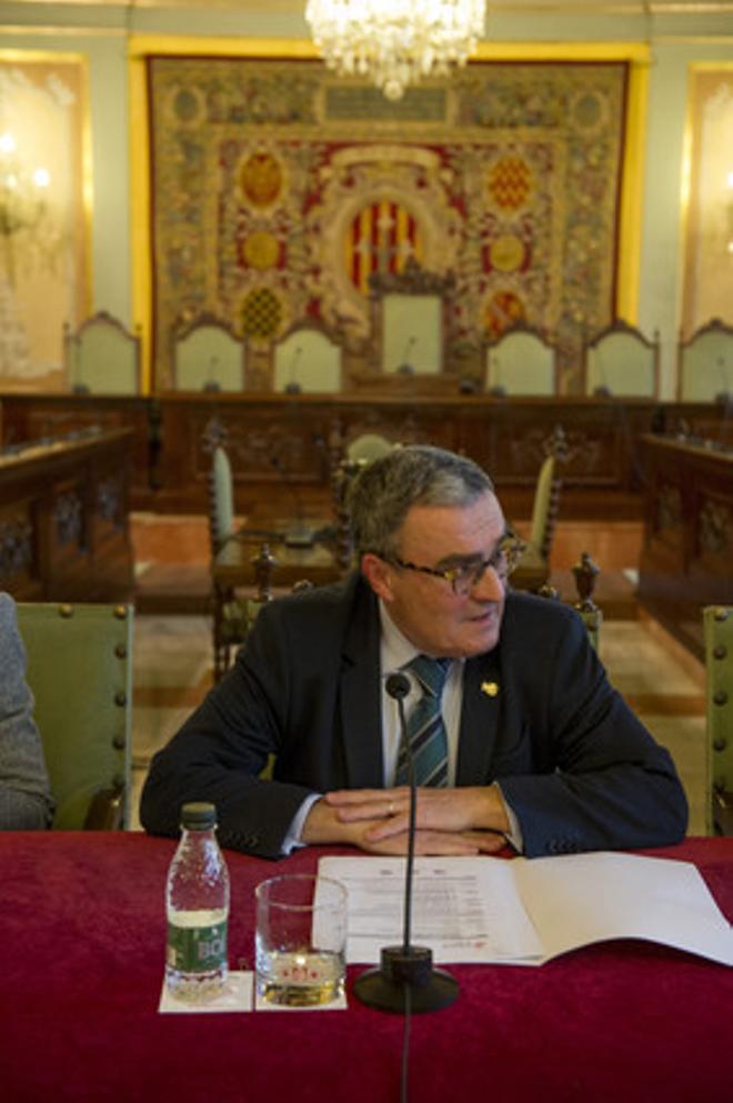 El alcaldde de Lleida, Àngel Ros.