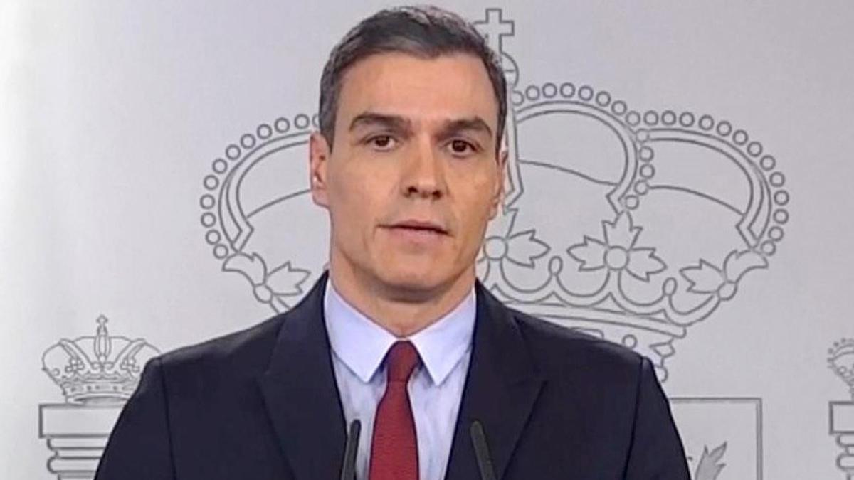 Crisis del coronavirus: Sánchez asegura que las medidas son drásticas y tendrán consecuencias.