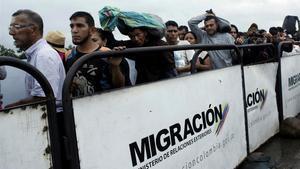 Un nou episodi de l'èxode veneçolà