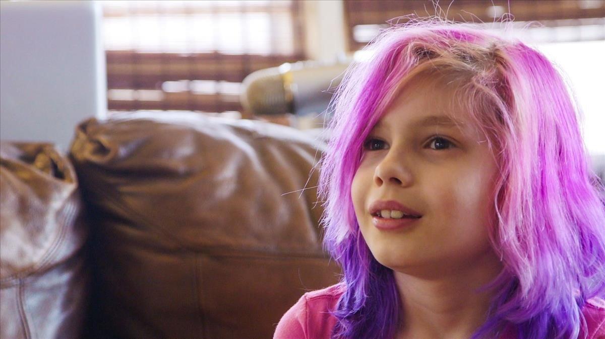 Avery Jackson en una imagen de 'Transhood'.