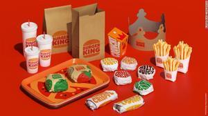 Así va a ser el 'packaging' de Burger King con su nueva imagen