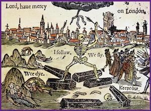 Una de las ilustraciones que acompañaron las noticias sobre la peste