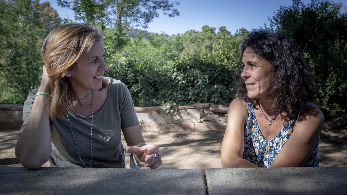 Bea Galán y Natalia Pomareda, profesoras de secundaria, hacen balance del curso.