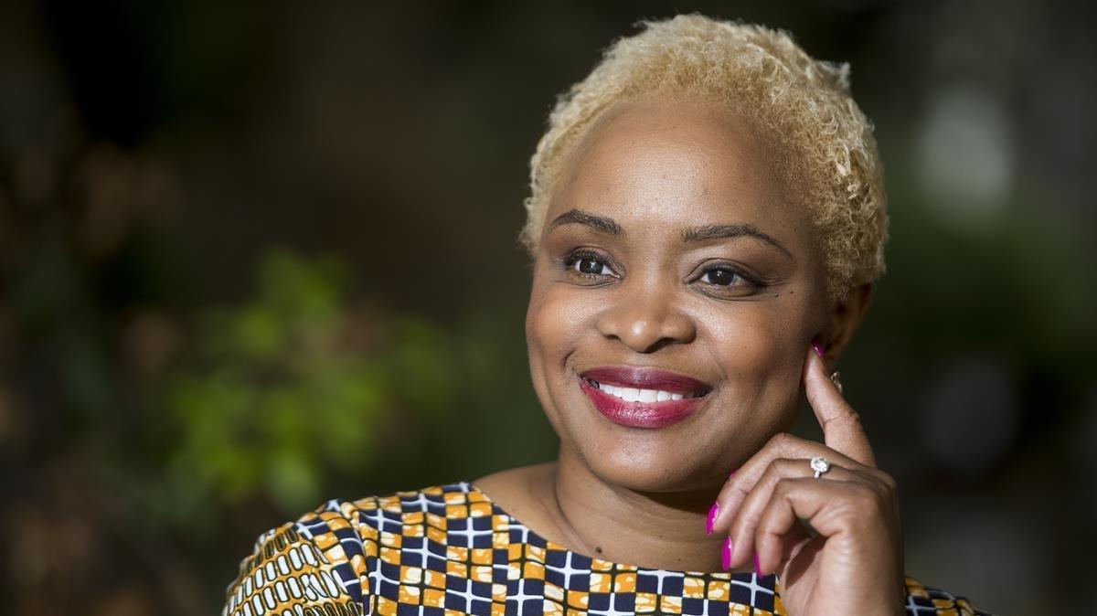Josina Machel, víctima de violencia machista y líder del movimiento Kahluka para proteger y empoderar a otras mujeres afectadas por esta lacra.