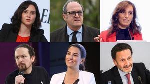 Los 6 exámenes de unas elecciones más allá de Madrid