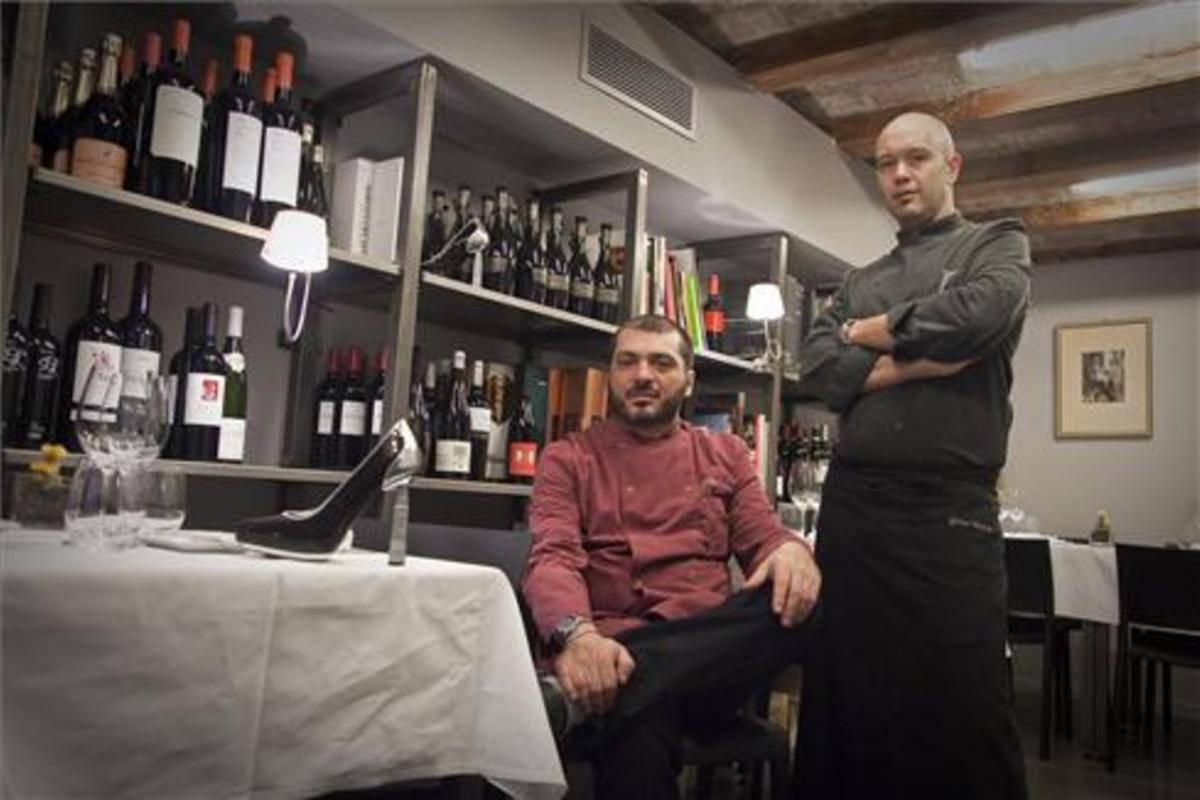 Frederic Fernández e Ignasi Montes (derecha), en Osmosis.