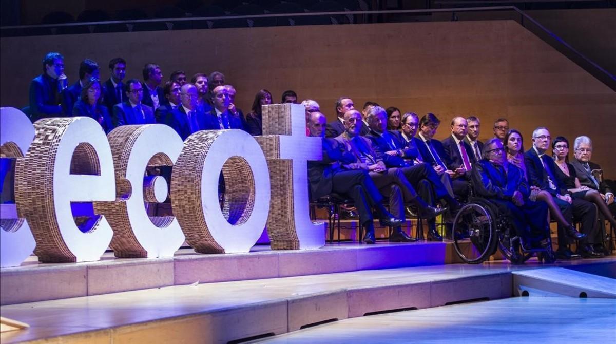 Puigdemont preside la Nit de l'Empresari de Cecot
