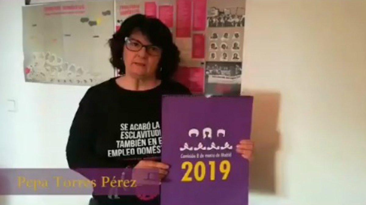 Una religiosa que llama a la huelga feminista