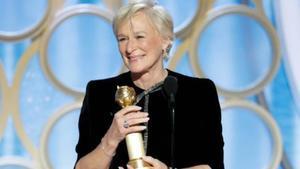 El emocionante discurso feminista de Glenn Close tras su inesperado premio en los Globos de Oro