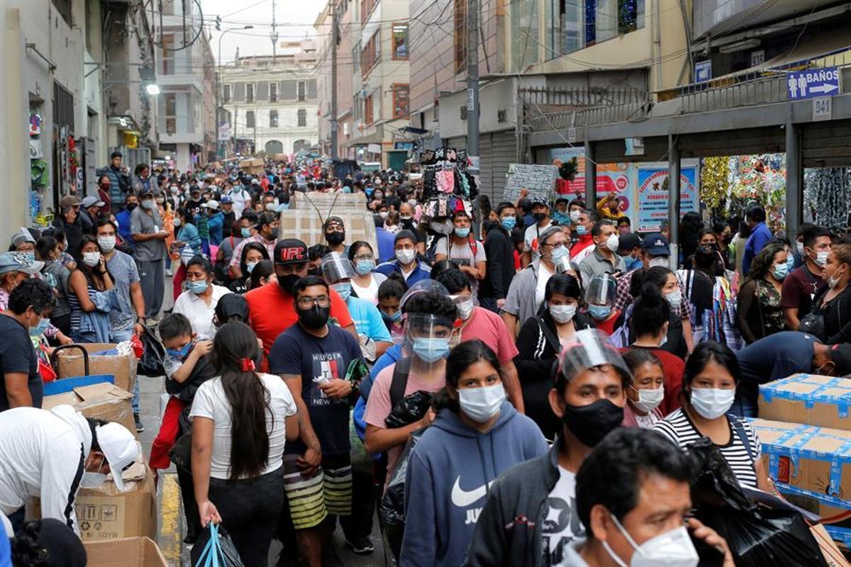 Deu regions del Perú, en quarantena de diumenge al 14 de febrer