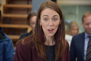 La primera ministra de Nueva Zelanda, Jacinda Ardern.
