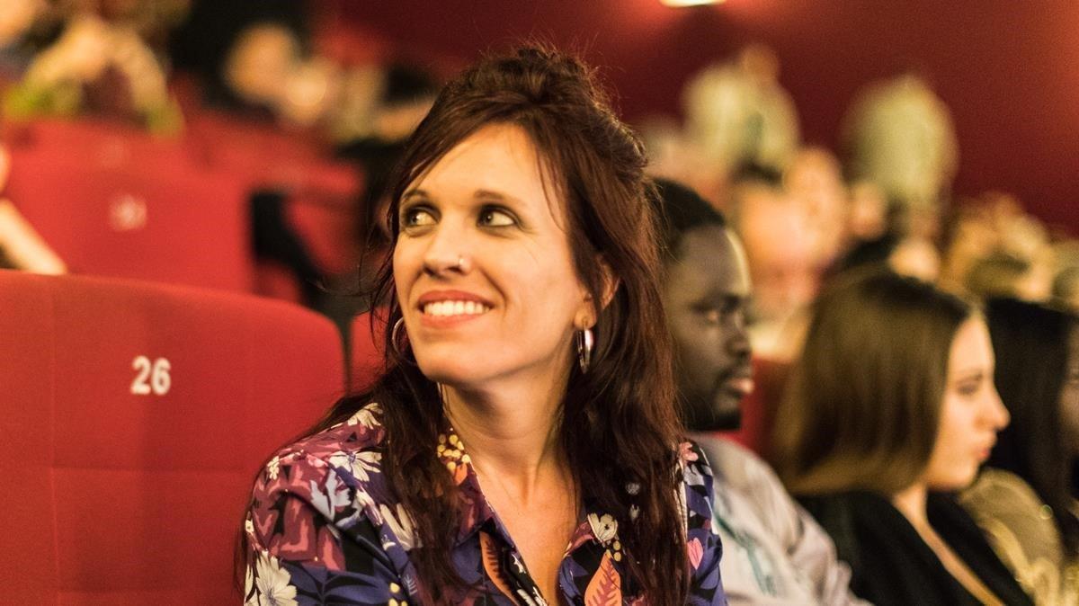 La directora Neus Ballús, en el estreno de 'Staff only' en la Berlinale