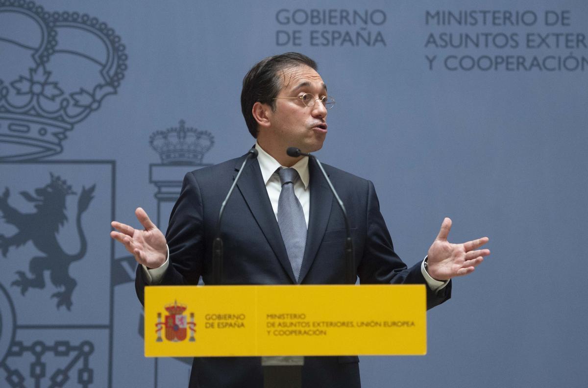 El ministro de Exteriores, José Manuel Albares.