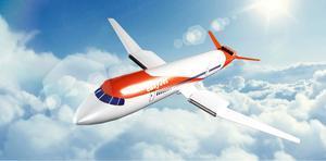 Imagen virtual del avión eléctrico de Easyjet.