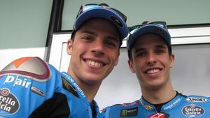 Joan Mir y Àlex Márquez, campeones de Moto3, perseguirán juntos este año el título de Moto2.