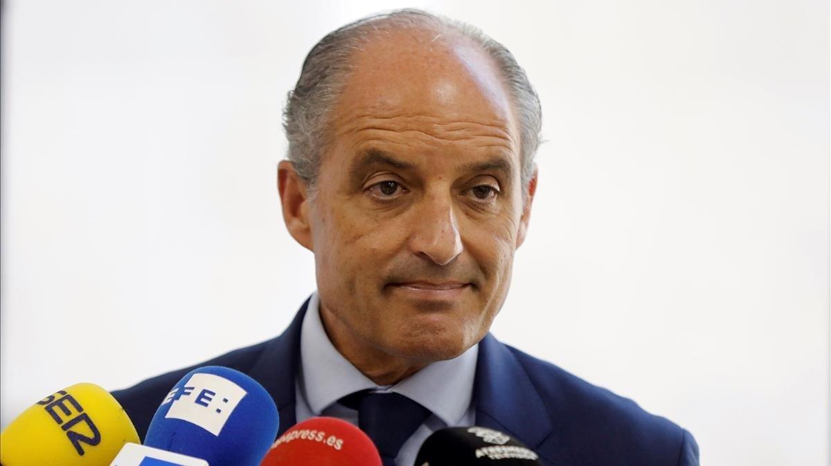 El expresidente valenciano Francisco Camps, el pasado septiembre.