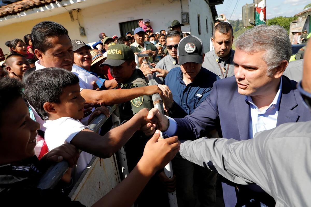 Duque aclaró que los países que tienen altos niveles de consumo deben enfrentar ese fenómeno mientras Colombia hace lo propio enfrentando a los carteles.