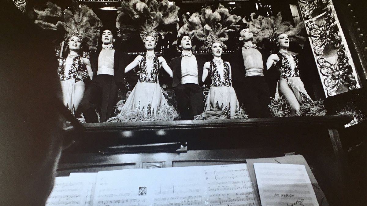 Actuación en el teatro El Molino, en 1991