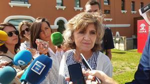 La ministra de Sanidad en funciones, María Luisa Carcedo.