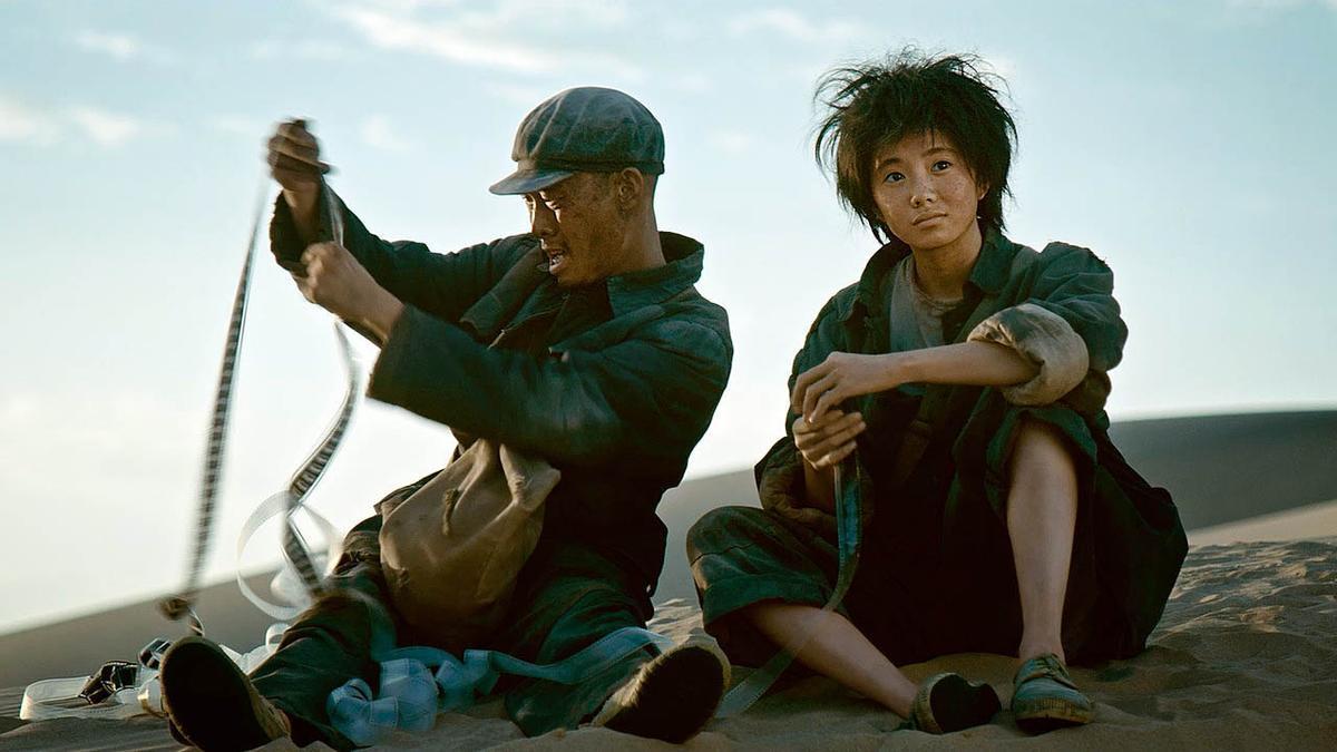 Una imagen de la película 'Un segundo'.