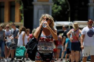 La ola de calor afectó el pasado mes de julio a toda España.