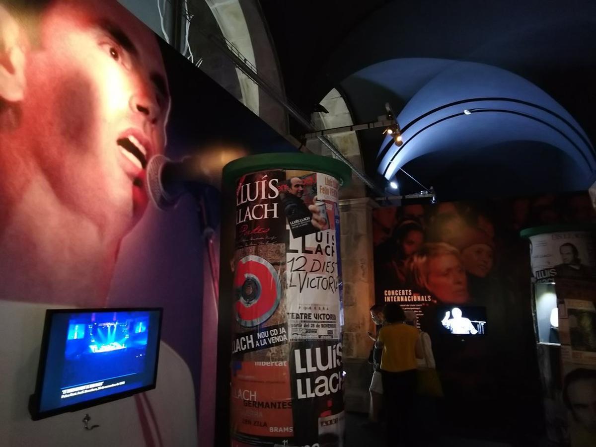 La exposición permite descubrir la obra del artista.