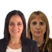 María Pilar Delgado y Montserrat Puig Llobet