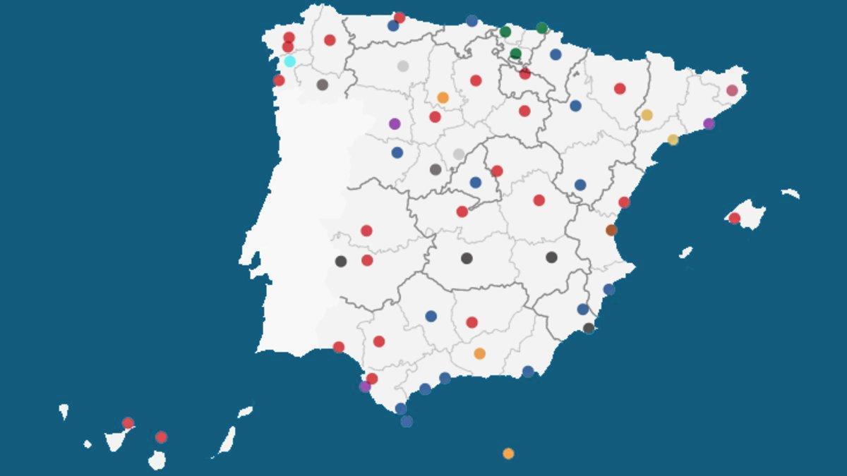 Buscador: Los alcaldes de todos los municipios de España tras las elecciones 2019