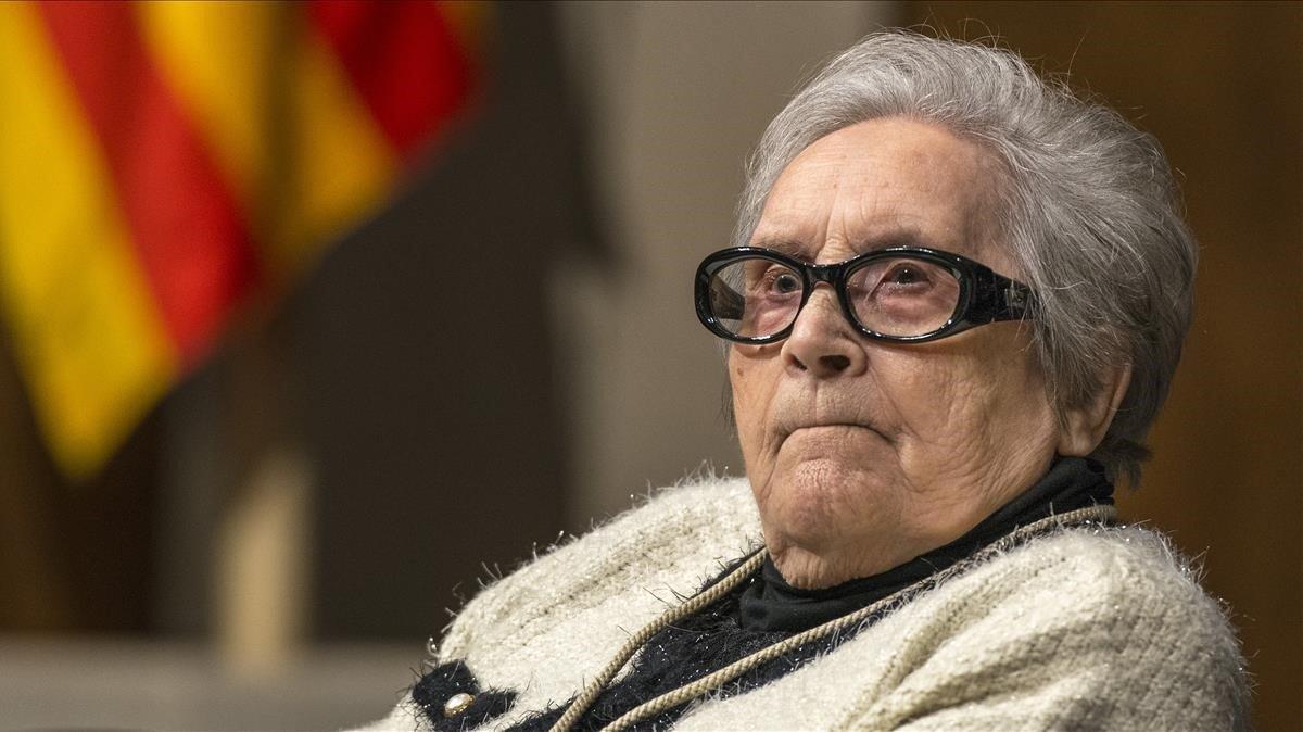 Muere a los 103 años Neus Català, superviviente de los campos de exterminio nazi