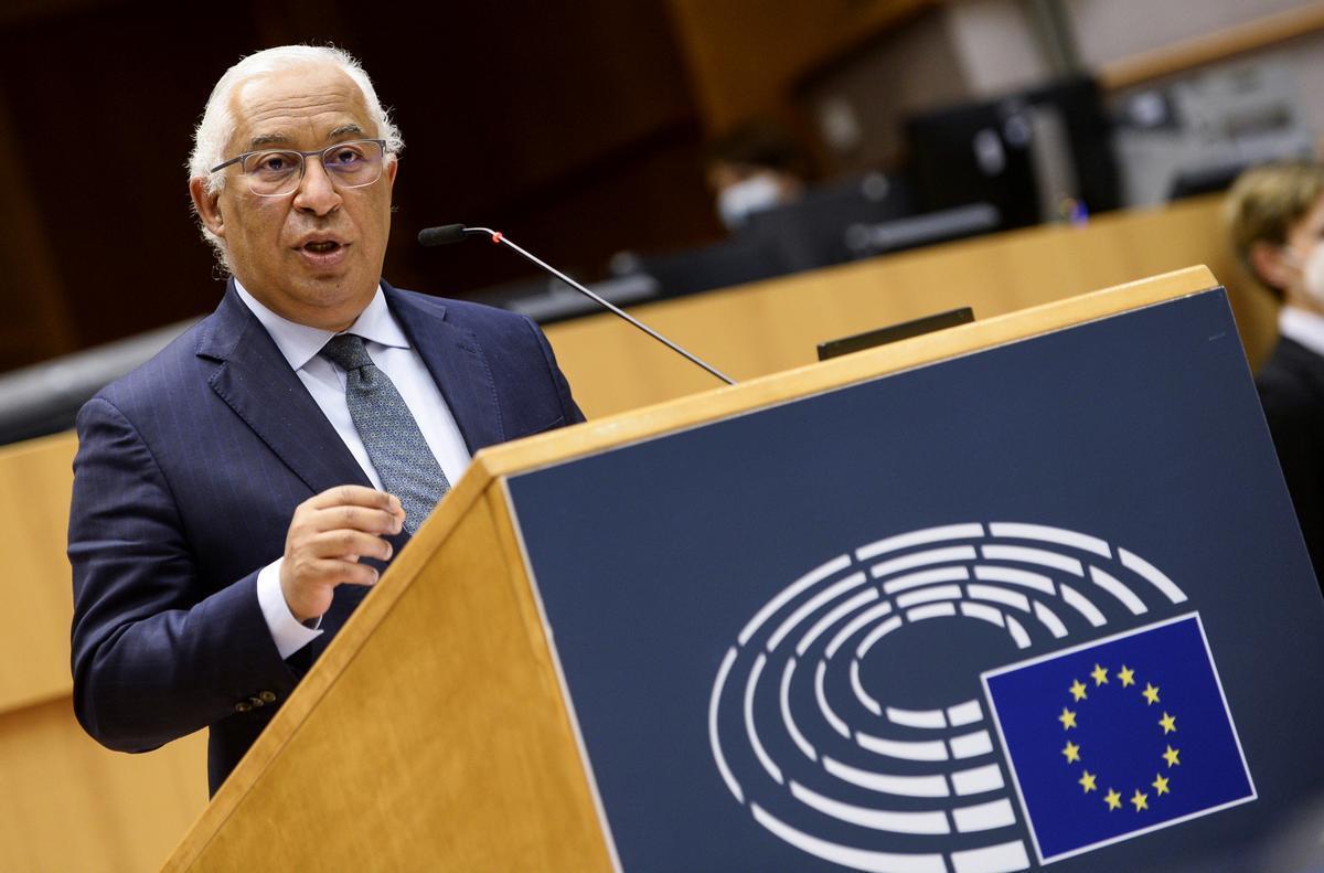 El primer ministro de Portugal, Antonio Costa.