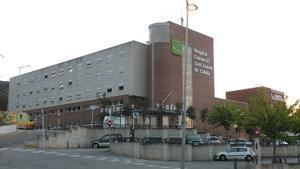 Fachada del Hospital de Calella.